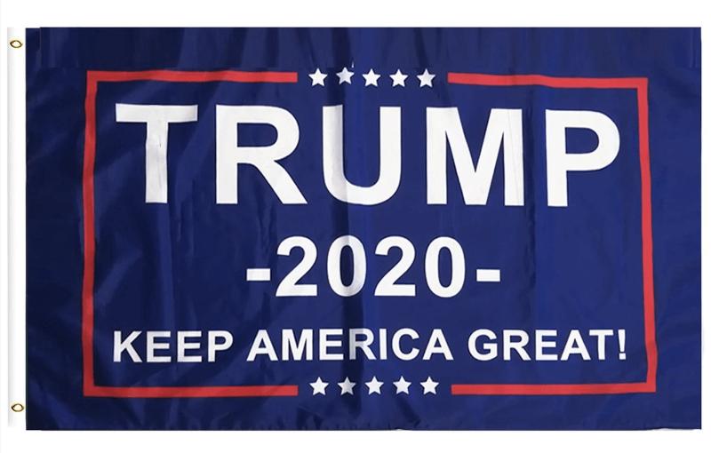 Free Trump 2020 Flag
