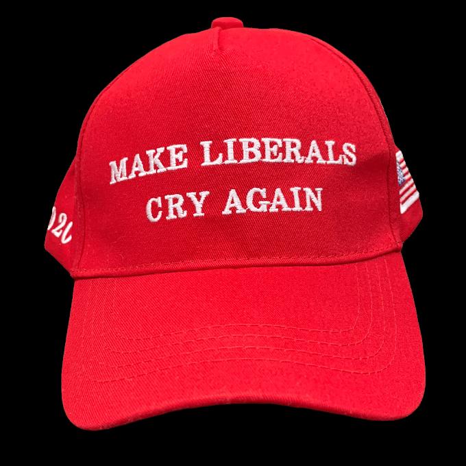 Free Make Liberals Cry Again Hat