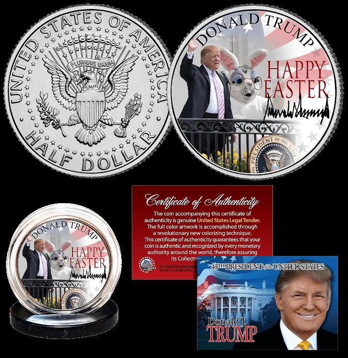 Trump Easter 2020 Collector Coin
