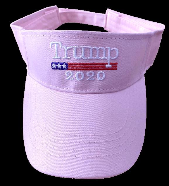 Free Trump 2020 Pink Visor