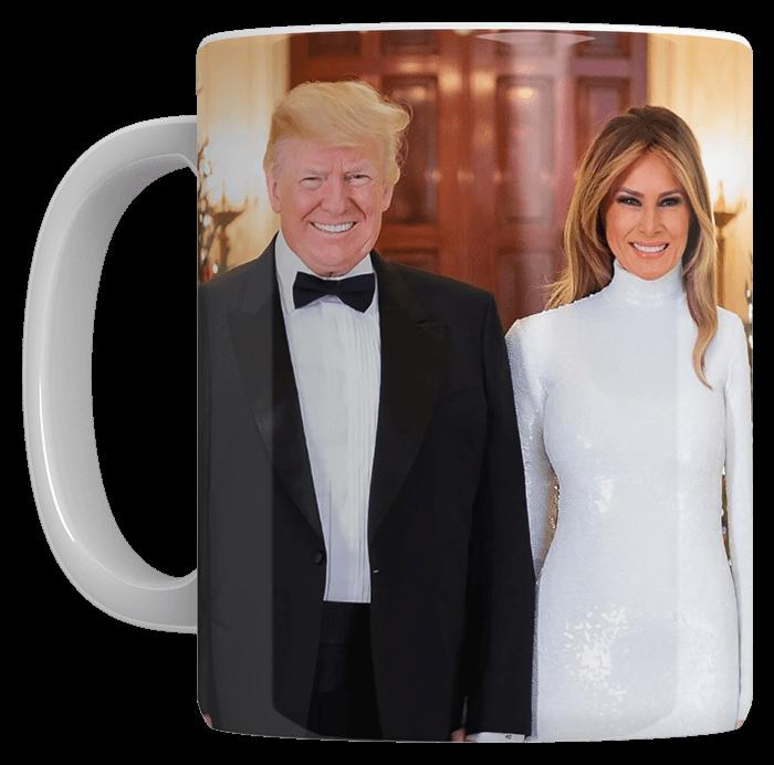 Trump and Melania Coffee Mug