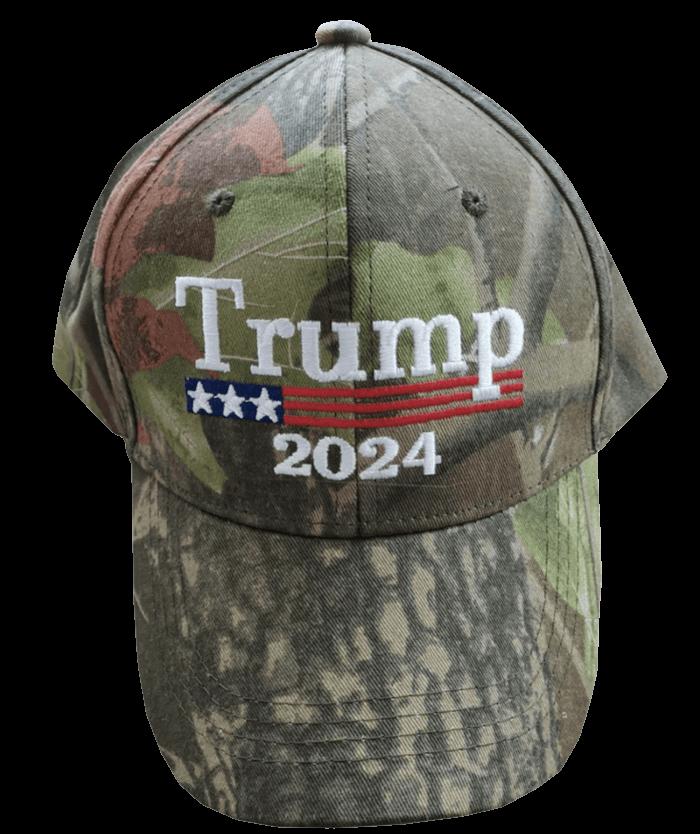 Free Trump 2024 Camo Hat