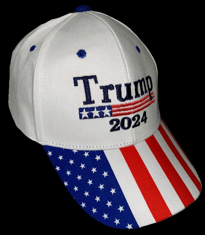 Free Trump 2024 Patriotic Hat