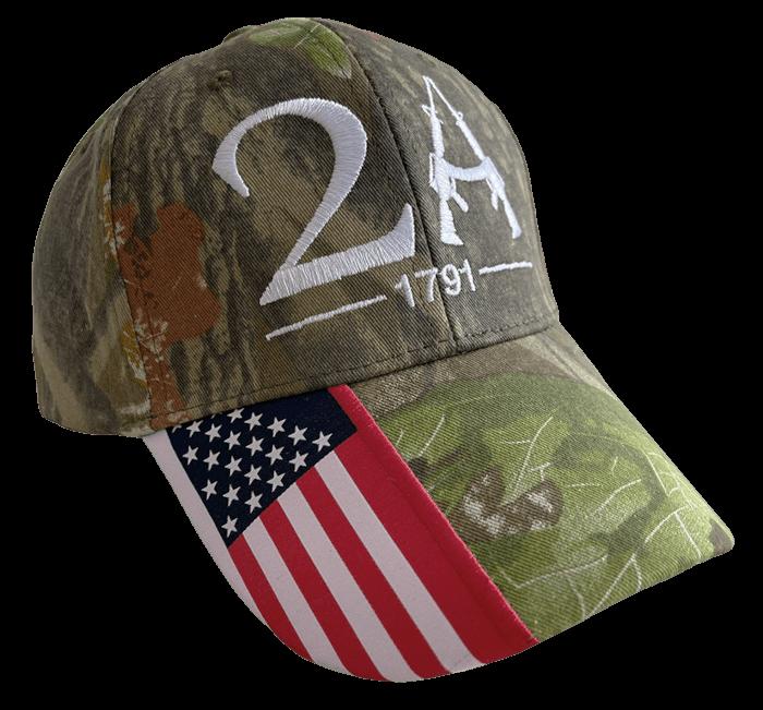Free Woodland Camo 2A Hat