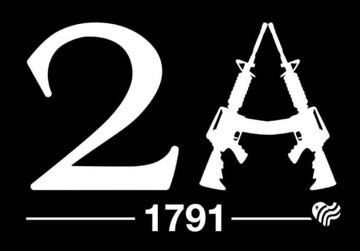 Black 2A Sticker