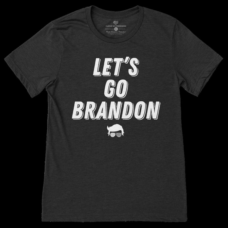 Let's Go Brandon T-Shirt Dark